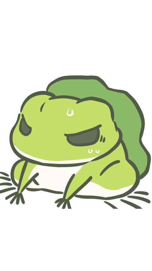 旅行青蛙卡通头像卡通青蛙