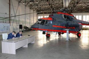 俄工厂向军方交付北极专用型米8amtshva运输直升机