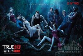 真爱如血 第三季卡司海报放出 吸血鬼性感撩人