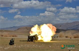 6月3日,驻藏某山地旅组织炮兵分队进行实弹射击训练.