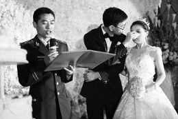 证婚人词(婚礼上新娘说的台词)