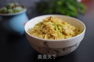 鸡蛋韭黄炒饭的做法