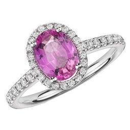 ...Nile 粉色蓝宝石钻戒(售价:2400$)-17款绚丽珠宝婚戒美到窒息