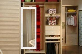衣柜门装镜子好不好