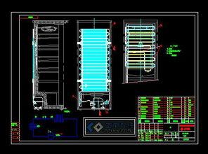 怎么使用cad画制冷系统图