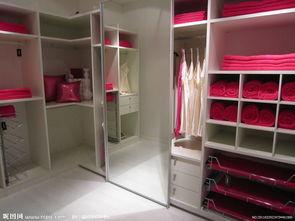 女生衣柜实拍高清图