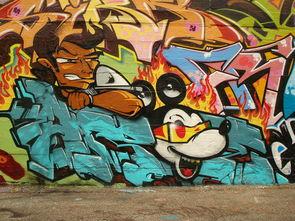 30个街头涂鸦艺术