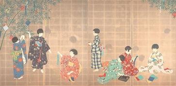 日本艺术史上的美少女 从成熟少妇到青春少女