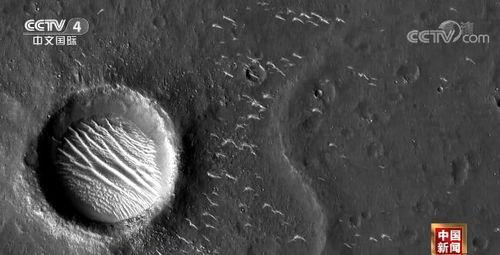 新闻观察天问一号探测器拍摄的高清火星影像发布