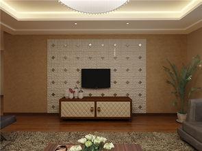 集成电视背景墙效果图 合理搭配打造完美客厅