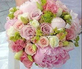 紫 玫瑰粉玫瑰香槟玫瑰 新娘手捧花鸡西鲜花速递