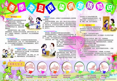 预防春季感染病谚语