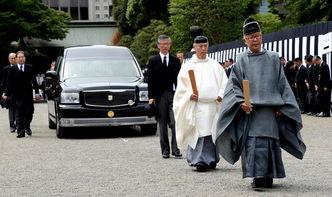 日本为天皇堂弟举行皇室葬礼