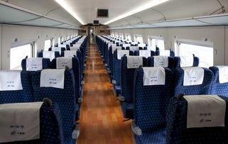 高铁的座位是什么样图片