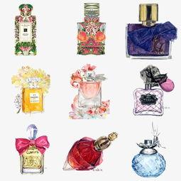 手绘香水瓶素材图片免费下载 高清卡通手绘png 千库网 图片编号3765706