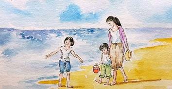 """一个宝妈回答,""""我儿子以前也这样,后来我跟他说,如果按时完成洗漱,就可以得到一个五角星。"""