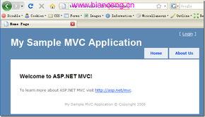 ASP.NET MVC入门1 简介