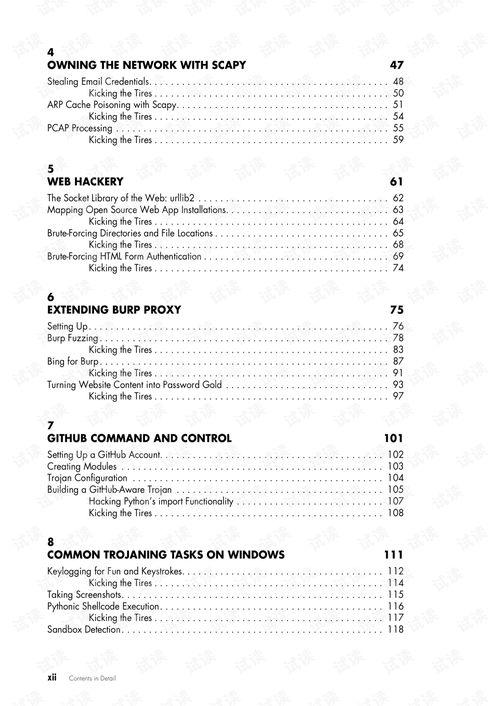 python黑客pdf