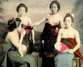 西方人眼中的日本艺妓(图)