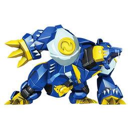 智尊 元气勇者 星魂2百变机兽神龙拯救队变形模