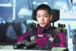 屈楚萧在《流浪地球》里出演男主角刘启.