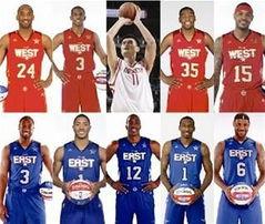 nba全明星阵容(NBA全明星名单)