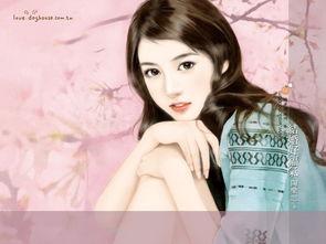 手绘台湾言情小说封面美女人物ps作品欣赏1 16P