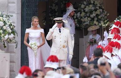 摩纳哥亲王举行盛大婚礼