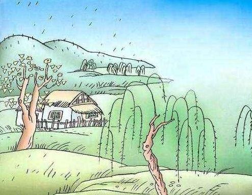描写西湖春雨的诗句古诗词