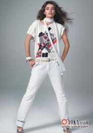 MNG夏季新款个性女装帅气逼人 我爱美白的时尚图片 YOKA时尚空间