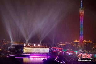 广州亚运会开幕式举行最后一次彩排
