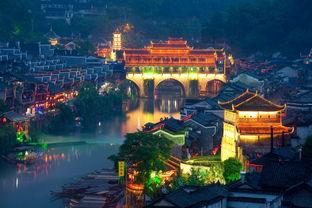 凤凰古城国家历史文化名城,曾被新西兰著名作家路易艾黎称赞为中国最美丽的小城。