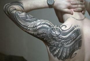男士手臂霸气有个性的纹身图案