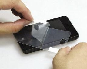 手机贴膜教程(自己给手机贴膜怎么贴)