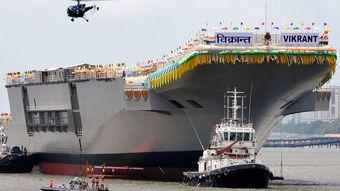 印度国产航母终于开建舰岛