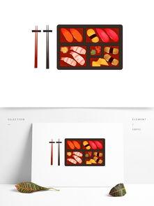 各种日式寿司美食图案元素图片素材 其他格式 下载 其他大全