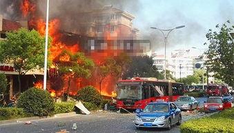 杭州一餐馆煤气爆炸火光冲天20余人受伤