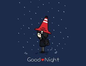 表达夜晚下雨的心情的句子