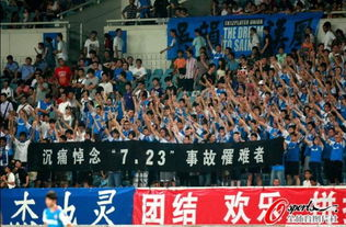 在江苏舜天与深圳红钻比赛的看台上,球迷们的一举一动深深感染了你我.(