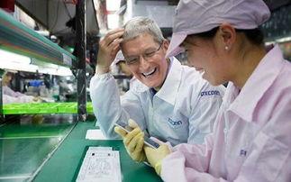 苹果ceo库克参观富士康