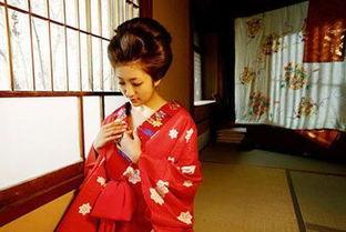 风情万种日本艺伎