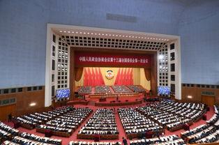 全国政协十三届一次会议举行第二次全体会议