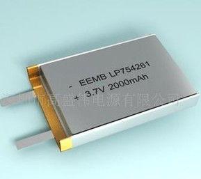 EEMB大容量2.0Ah锂聚合物电池,现货锂电池