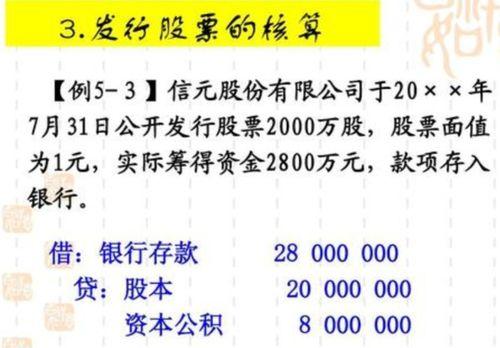 定向增发股票双方的会计分录