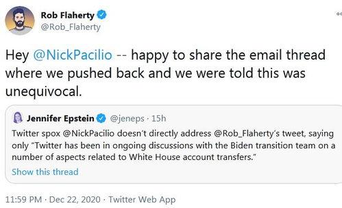 拜登团队很不满推特计划清空美国总统官方账号所有粉丝,但四年前不是这么做的