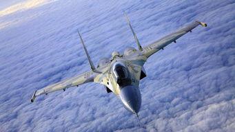 俄罗斯新式苏-35原型机001号。