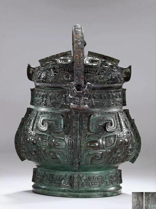 西周早期青铜卣成交价:2300万元