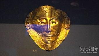 古代神秘黄金面具 图坦卡蒙震撼世界