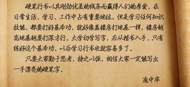 庞中华硬笔书法(庞中华的楷书属于哪一)