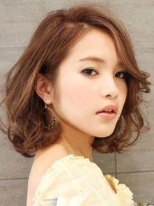 圆脸女生好看的韩式发型